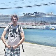 The first time I headlined a cruise ship